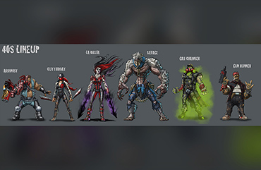 Art Direction Guardians of Haven Characters