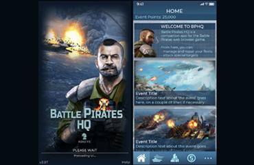 UI/UX Battle Pirates Companion App