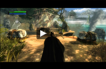StarWars Force Unleashed TV
