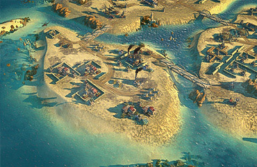 Island Map & Water - Rougue Assault